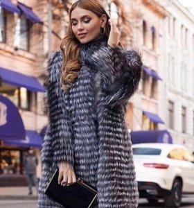 Пальто из Чернобурки. Демисезон