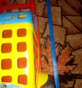 Тележка для игрушек