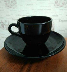 Кофейный сервиз (набор) черный