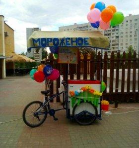 Велосипед с мороженым