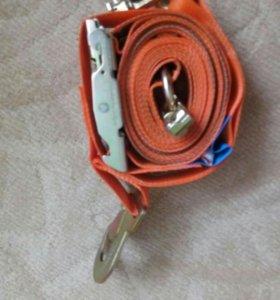 Стяжной ремень для крепления внутри фуры