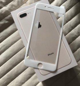 Защитное стекло 3D white
