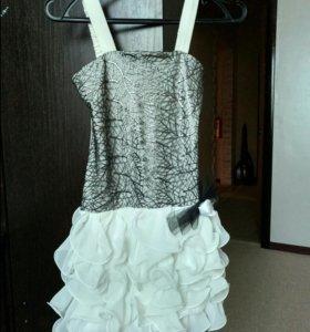 Платье белое детское 11-12 лет