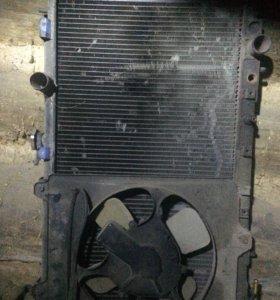 Радиатор на RVR митсубиши