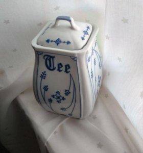 Чайница, антиквариат, винтаж, Германия