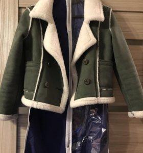 Куртка -дубленка