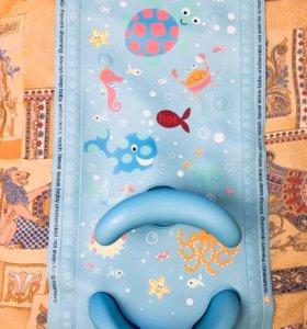 Коврик и стульчик для купания Mothercare