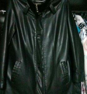 Куртка из экокожи 48-50 р.