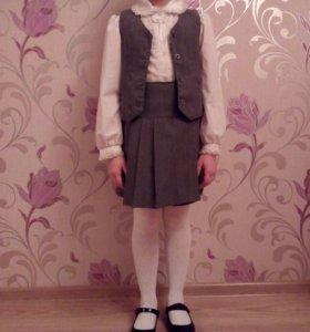 Школьная форма,блузки,р122-128.