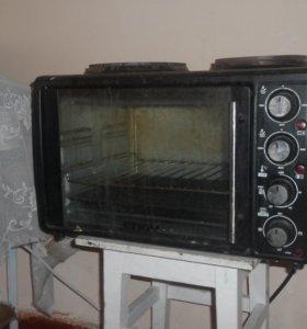 телевизор и жарочный шкаф