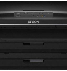 Цветной принтер Epson WorkForce WF-7015