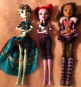 Оригинальные куклы Monster High, Ever After High
