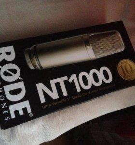 Студ.микрофон Rode NT1000 конденсаторный( новый)