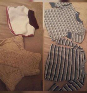 68-74 футболки майки кофты штаны