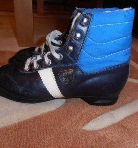Ботинки лыжные Botas р 36 Чехословакия