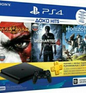 Игровая приставка Sony PS 4 Slim 500GB, НОВАЯ
