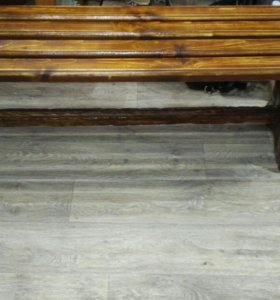 Скамейка для беседки или бани