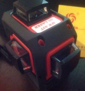 Лазерный уровень 3д, нивелир 3D