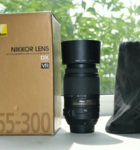 Объектив nikon 55-300mm f/4.5-5.6g ed vr