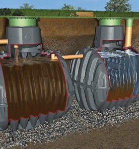 Септик, био септик, автономная канализация