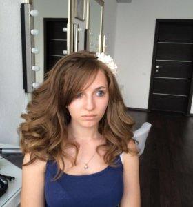 Макияж/ свадебные и вечерние причёски