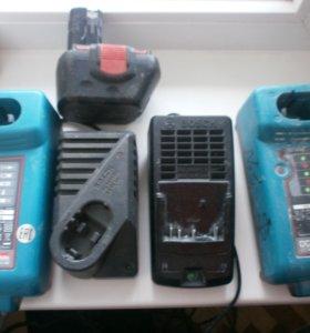 Bosch Makita Зарядки и Аккумуляторы