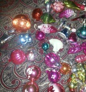 игрушки для коллекции, украшения для ёлки