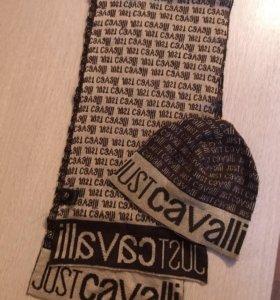 Шапка и шарф Just Cavalli