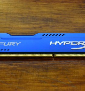 Kingston HyperX Fury DDR3 1600MHz PC3-12800 - 4Gb