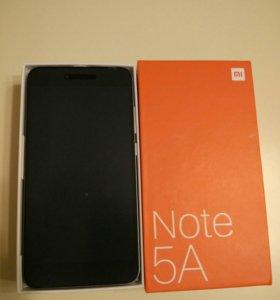Новый Xiaomi Note 5A+ чехол 2GB\16GB