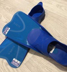 Новые детские ласты для плавания