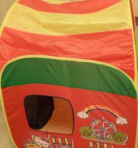 Палатка игровая детская новая