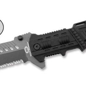 Нож складной выкидной тактический новый