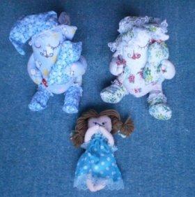 Игрушка-кукла текстильная, новая, торг