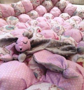 Шью текстиль для детской комнаты