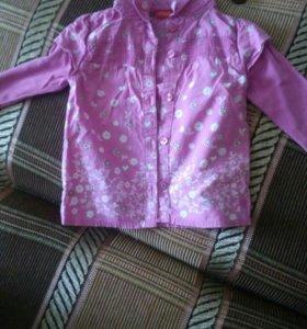 Блузка рост 74-80