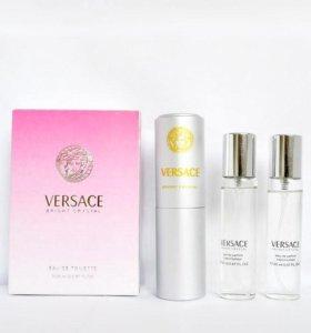 (В НАЛИЧИИ) Bright Crystal Versace 3 в 1