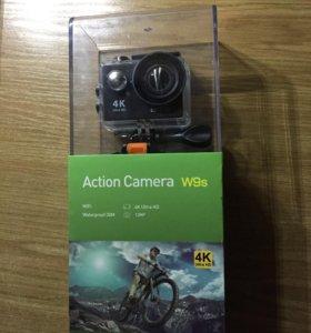 Экшн камера Action Camera wi-fi 4K ultra HD/140'.