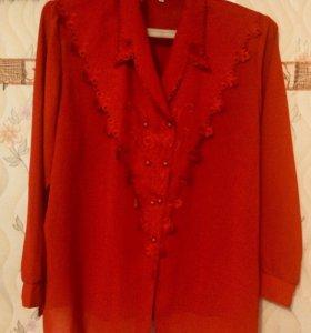 Блузка женская 56 размера