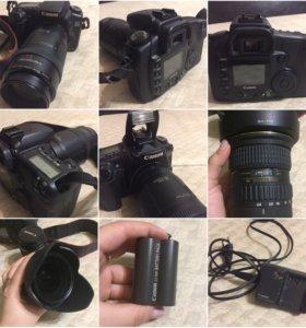 Продам фотокамеру Canon eos 20Dпочти новая