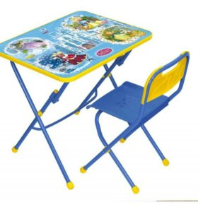 Набор мебели стол + стул. Волшебный мир