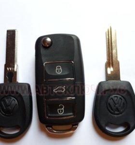 Ключ Skoda Fabia