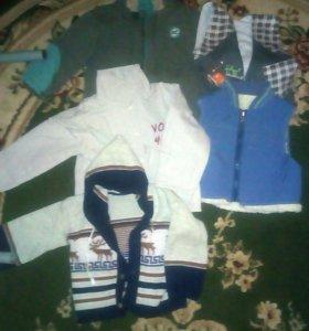 Вещи на мальчика 86-92 пакетом
