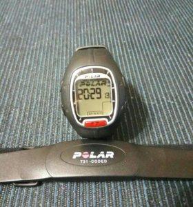 Пульсометр polar rs100
