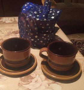 Керамический чайный сервис