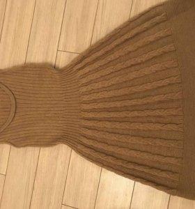 Вязанный сарафан