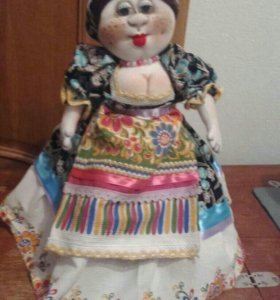 Куклы, бабы на чайник ручной работы.