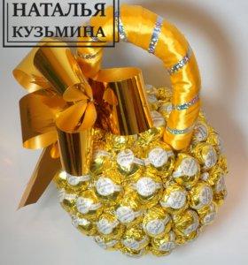 Гиря из конфет ( на заказ)