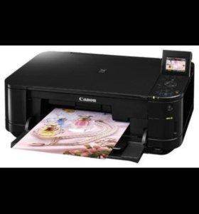Принтер CANON Pixma mg5140 c снпч и чернилами