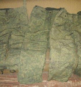 Пиксильные ватные штаны